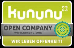 Auszeichnung: Kununu Open Company